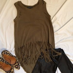 Flirty Fringe Top